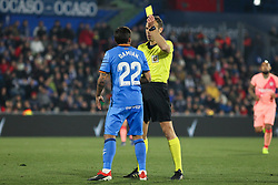 January 6, 2019 - Getafe, Madrid, Spain - Damian of Getafe in action during the spanish league, La Liga, football match between Getafe and Barcelona on January 06, 2019 at Coliseum Alfonso Perez in Getafe, Madrid, Spain. (Credit Image: © AFP7 via ZUMA Wire)