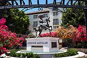 Antonio Aguilar Statue At El Pueblo de Los Angeles