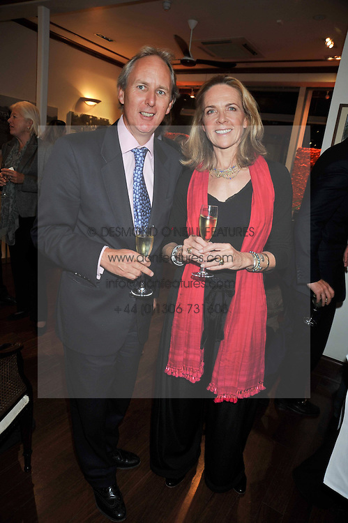 CHARLIE MAYHEW and MARLENE McCAY at a reception in aid of Save The Elephants held at Patrick Mavros, 104-106 Fulham Road, Lodon SW3 on 23rd September 2009.