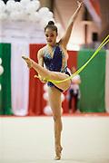 Garcia Sofia Ellen during the Italian Rhythmic Gymnastics Championship 2018 in Fabriano.