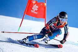 Sara Rask (SWE) during giant slalom race at FIS European Cup Krvavec 2021, February 2, 2021 in Krvavec, Cerklje na Gorenjskem, Slovenia. Photo by Matic Klansek Velej / Sportida