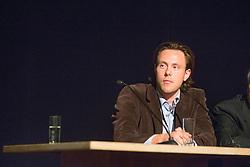 "Van Lieren Laurens (NED)<br /> Panel discussion ""The German system""<br /> Global Dressage Forum - Academy Bartels <br /> Hooge Mierde 2012<br /> © Dirk Caremans"