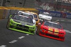 May 26, 2018 - Concord, North Carolina, United States of America - Brad Keselowski (22) brings his race car down the front stretch during the Alsco 300 at Charlotte Motor Speedway in Concord, North Carolina. (Credit Image: © Chris Owens Asp Inc/ASP via ZUMA Wire)