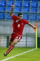 Fotball <br /> FIFA World Youth Championships 2005<br /> Nederland / Holland<br /> Foto: ProShots/Digitalsport<br /> <br /> italia - syria, tilburg, 15-06-2005<br /> <br /> abd alhousain scoort uit de rebount.