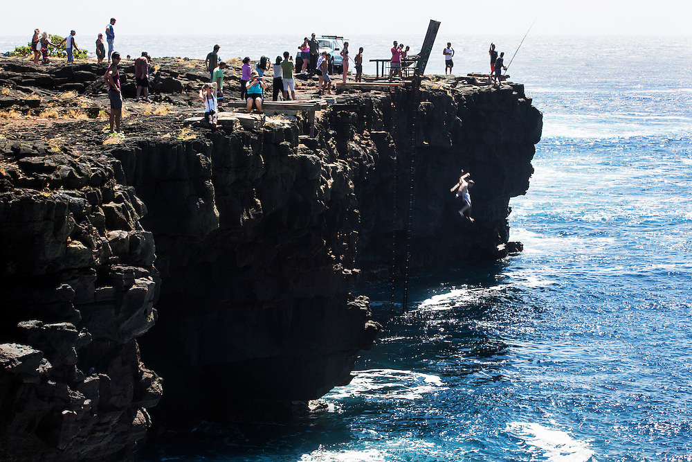 Ka Lae (South Point), Big Island, Hawaii.