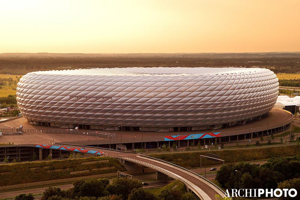 Herzog and de Meuron  • Fussball Arena, Munich