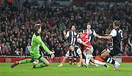Arsenal v Newcastle United 130312
