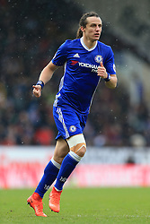 12th February 2017 - Premier League - Burnley v Chelsea - David Luiz of Chelsea gives the thumbs up - Photo: Simon Stacpoole / Offside.