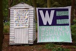 Latitude Festival 2017, Henham Park, Suffolk, UK. Women's Equality Party area