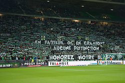 October 20, 2017 - Saint Etienne - Stade Geoffroy, France - Supporter  (Credit Image: © Panoramic via ZUMA Press)