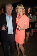 STANLEY JOHNSON; RACHEL JOHNSON, Rachel Johnson book launch of Fresh Hell, Acklam Village Market, Acklam Rd. London W10.