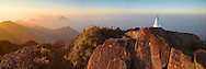 Vietnam Images-Sunrise at Fansipan summit - the highest peak in Indochina peninsula.Sapa VietNam Hoàng thế Nhiệm Phong cảnh Sapa