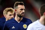 Scotland forward Steven Fletcher (9) (Sheffield Wednesday) during the UEFA Nations League match between Scotland and Israel at Hampden Park, Glasgow, United Kingdom on 20 November 2018.