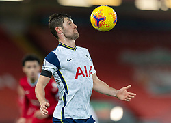 LIVERPOOL, ENGLAND - Wednesday, December 16, 2020: Tottenham Hotspur's Ben Davies during the FA Premier League match between Liverpool FC and Tottenham Hotspur FC at Anfield. Liverpool won 2-1. (Pic by David Rawcliffe/Propaganda)