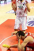 DESCRIZIONE : Pistoia Lega serie A 2013/14  Giorgio Tesi Group Pistoia Pesaro<br /> GIOCATORE : Amici Alessandro<br /> CATEGORIA : fallo  curiosità<br /> SQUADRA : Pesaro Basket<br /> EVENTO : Campionato Lega Serie A 2013-2014<br /> GARA : Giorgio Tesi Group Pistoia Pesaro Basket<br /> DATA : 24/11/2013<br /> SPORT : Pallacanestro<br /> AUTORE : Agenzia Ciamillo-Castoria/M.Greco<br /> Galleria : Lega Seria A 2013-2014<br /> Fotonotizia : Pistoia  Lega serie A 2013/14 Giorgio  Tesi Group Pistoia Pesaro Basket<br /> Predefinita :