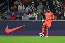 March 21, 2019 - Orlando, Florida, USA - US goalkeeper Sean Johnson (1) during an international friendly between the US and Ecuador at Orlando City Stadium on March 21, 2019 in Orlando, Florida. .The US won the game 1-0...©2019 Scott A. Miller. (Credit Image: © Scott A. Miller/ZUMA Wire)