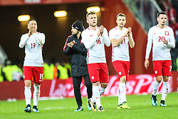 November 13, 2017 - Gdansk, Poland - Piotr Zielinski (POL), Maciej Makuszewski (POL), Jakub Blaszczykowski (POL), Tomasz Kedziora (POL), Rafal Wolski (POL)  celebrate after the International Friendly match between Poland and Mexico at Energa Stadium in Gdansk, Poland on November 13, 2017. (Credit Image: © Foto Olimpik/NurPhoto via ZUMA Press)