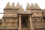 India, Rajasthan, Jaisalmer, Jain temple in Jaisalmer fort