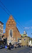 Kościół Świętej Trójcy - kościół Dominikanów w Krakowie, Polska<br /> Church of the Holy Trinity - Dominican church in Cracow, Poland