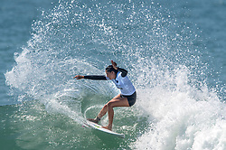 September 6, 2017 - San Clemente, California, USA - Malia Manuel surfs in her heat during the Swatch Pro at Lower Trestles at San Onofre State Beach south of San Clemente on Wednesday, August 6, 2017. (Photo by Mark Rightmire, Orange County Register/SCNG) (Credit Image: © Mark Rightmire/The Orange County Register via ZUMA Wire)