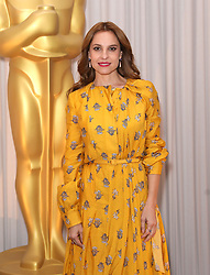 Marina de Tavira attending the Oscars Nominee Champagne Tea Reception held at the Claridge's Ballroom in London, UK.