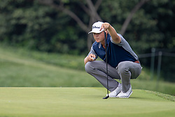 June 2, 2018 - Dublin, OH, U.S. - DUBLIN, OH - JUNE 02:  Patton Kizzire prepares to putt during the third round of the Memorial Tournament at Muirfield Village Golf Club in Dublin, Ohio on June 02, 2018.(Photo by Adam Lacy/Icon Sportswire) (Credit Image: © Adam Lacy/Icon SMI via ZUMA Press)