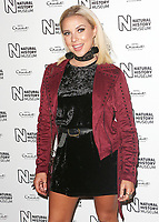 Gabby Allen, Natural History Museum Ice Rink - Launch Event, London UK, 25 October 2017, Photo by Brett D. Cove