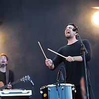 Nederland, Landgraaf, 13 juni 2015<br /> Optreden van Dotan tijdens  de tweede dag van het Pinkpopfestival.<br /> <br /> <br /> Foto: Jean-Pierre Jans