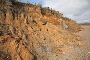 Coastal erosion and management, East Lane, Bawdsey, Suffolk, England