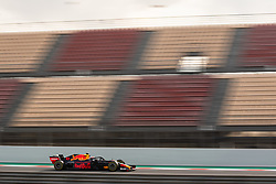 February 19, 2019 - Montmelo, BARCELONA, Spain - SPAIN, BARCELONA, 19 February 2019. Gasly driver of Red Bull racing team during the second day of winter test at Circuit de Barcelona Catalunya. (Credit Image: © AFP7 via ZUMA Wire)