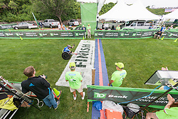 Gary Brendel runnerup in pushrim wheelchair division