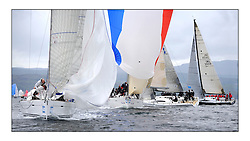 Brewin Dolphin Scottish Series 2011, Tarbert Loch Fyne - Yachting - Day 1 of the 4 day series..Class 1 Fleet with GBR8140C ,Zephyr ,Steven Cowie ,CCC/FYC/RGYC ,First 40.