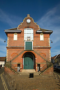 The Shire Hall town hall building dates from 1575 by Thomas Seckford, Woodbridge, Suffolk, England