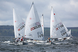 Day 4 NeilPryde Laser National Championships 2014 held at Largs Sailing Club, Scotland from the 10th-17th August.<br /> <br /> 206539, Daniel PETROVIC<br /> <br /> Image Credit Marc Turner