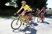 Greg Van Avermaet (BEL - BMC) yellow jersey during the 105th Tour de France 2018, Stage 6, Brest - Mur de Bretagne Guerledan (181km) in France on July 12th, 2018 - Photo Luca Bettini / BettiniPhoto / ProSportsImages / DPPI - photo Luca Bettini/BettiniPhoto©2018