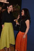 NIAMH O'NEILL,  POLLY MCGETTIGAN, The Arthur Cox Irish Fashion Showcase 2015,  Irish based designers chosen to be part of this year's Arthur Cox Irish Fashion Showcases The Mall Galleries, London. 13 May 2015.