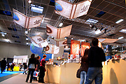 Turin, Piedmont/Italy -05-14-2010- The annual International Book Fair , Salone del Libro, the largest book fair in Italy.