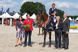 Brinkman Tom (NED) - Den Ham Blue R<br /> KWPN Paardendagen - Ermelo 2012<br /> © Dirk Caremans