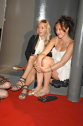 Left to right, sisters MATILDA TEMPERLEY and ALICE TEMPERLEYat the Royal Academy of Art Summer Exhibition Preview Party on 4th June 2008.<br />