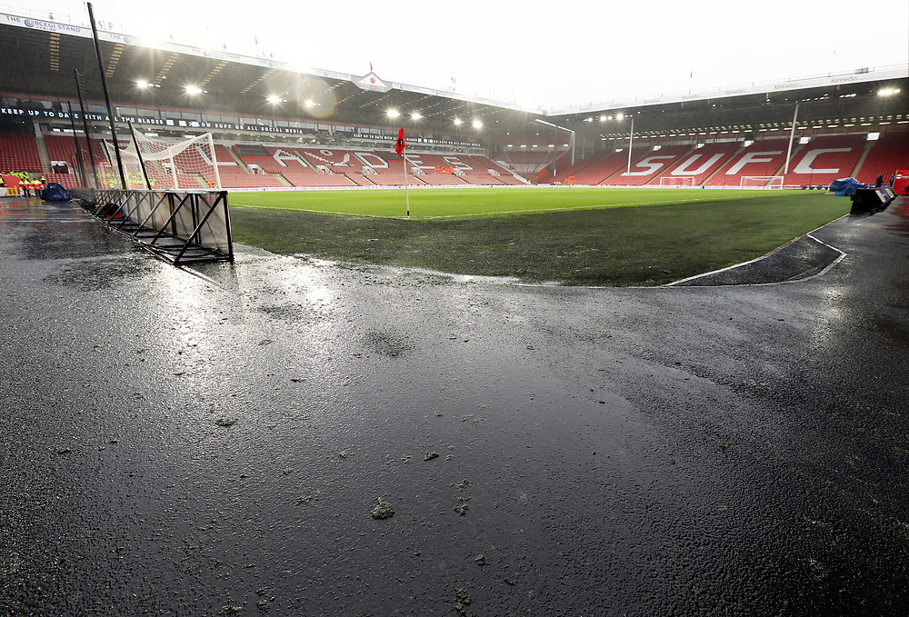 A general view of Bramall Lane, home of Sheffield United<br /> <br /> Photographer Rich Linley/CameraSport<br /> <br /> The Premier League - Sheffield United v Burnley - Saturday 2nd November 2019 - Bramall Lane - Sheffield<br /> <br /> World Copyright © 2019 CameraSport. All rights reserved. 43 Linden Ave. Countesthorpe. Leicester. England. LE8 5PG - Tel: +44 (0) 116 277 4147 - admin@camerasport.com - www.camerasport.com