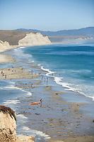 Drakes Beach on the Point Reyes, CA peninsula.