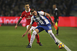 December 1, 2017 - Porto, Porto, Portugal - Porto's Mexican midfielder Hector Herrera during the Premier League 2016/17 match between FC Porto and SL Benfica, at Dragao Stadium in Porto on December 1, 2017. (Credit Image: © Dpi/NurPhoto via ZUMA Press)