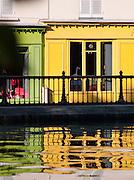 Store on the Canal Saint Martin, Paris, France