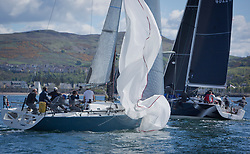 Pelle P Kip Regatta 2019 Day 1<br /> <br /> Light and bright conditions for the opening racing on the Clyde keelboat season<br /> GBR7737R, Aurora, Rod Stuart / A Ram, CCC, Corby 37
