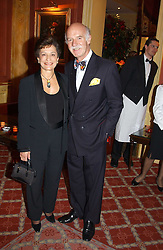 MR & MRS ANTON MOSIMANN at a party to say goodbye to George Goring and hello to his son Jeremy Goring as MD of the Goring Hotel,Beeston Place, London on 2nd March 2005.<br /><br />NON EXCLUSIVE - WORLD RIGHTS