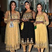 Sapnay danceers preforms at Asian Restaurant & Takeaway Awards | ARTA 2018 at InterContinental London - The O2, London, UK. 30 September 2018.