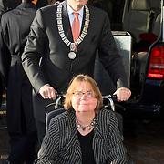 NLD/Amsterdam/20080201 - Verjaardagsfeest Koninging Beatrix en prinses Margriet, Job Cohen en partner Lydie