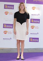 Lauren Drummond attending the annual WellChild Awards at The Dorchester Hotel, London.