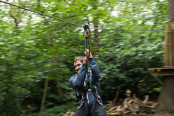Enfield Go Ape, Trent Country Park, London Borough of Enfield, North London UK