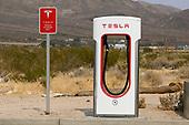 News-Tesla EV Super Charger Station-Sep 14, 2020
